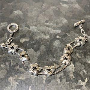 Brighton Vintage Heart Slider Toggle Bracelet